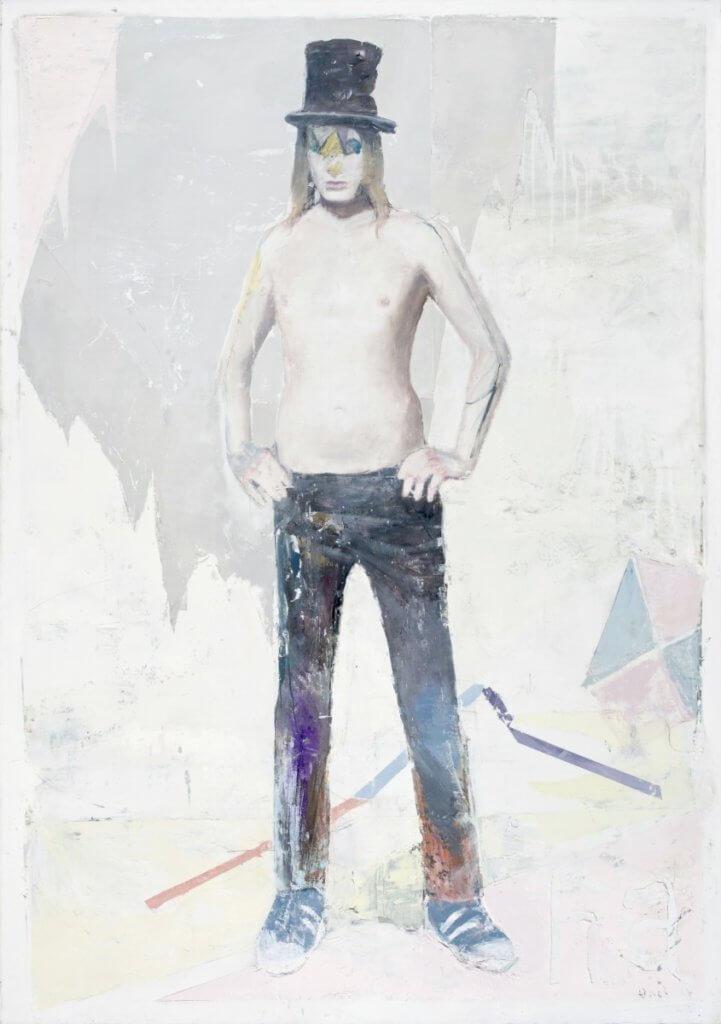 Kite 2017 oil on canvas 200x140 cm