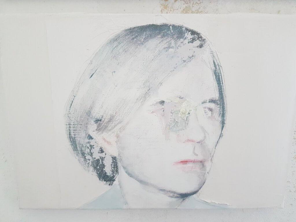 Warhol 2017 oil on canvas 30x40 cm