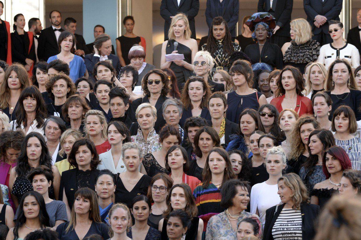 Cate Blanchett Protest Festivalul De Film De La Cannes 1
