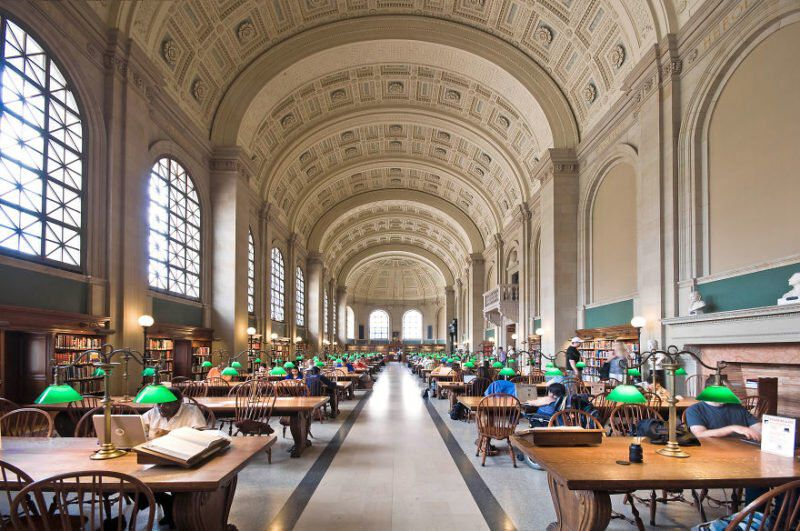 Boston Public Library Boston Mass 5b15c7e37561c 880