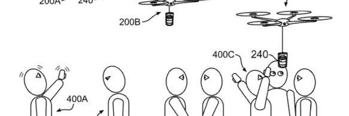 skynews ibm patent coffee drone 4398126