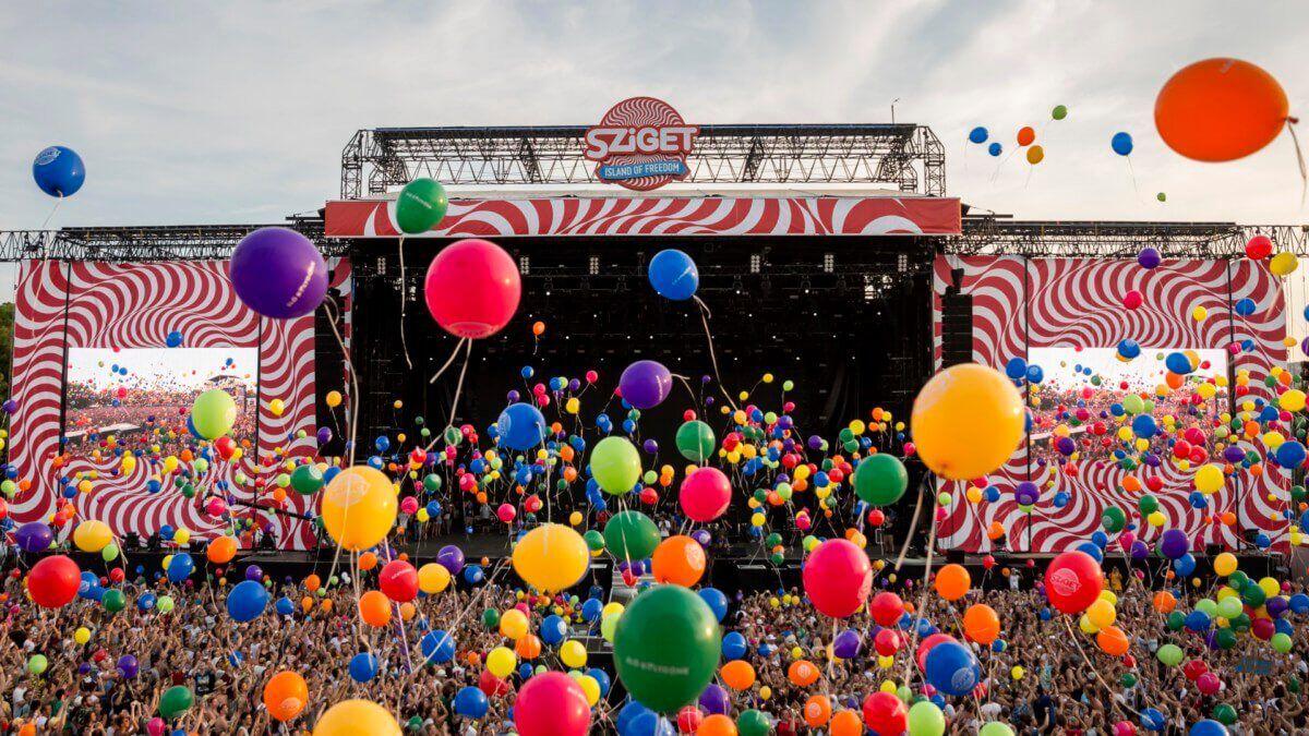 Sziget Festival Balloons