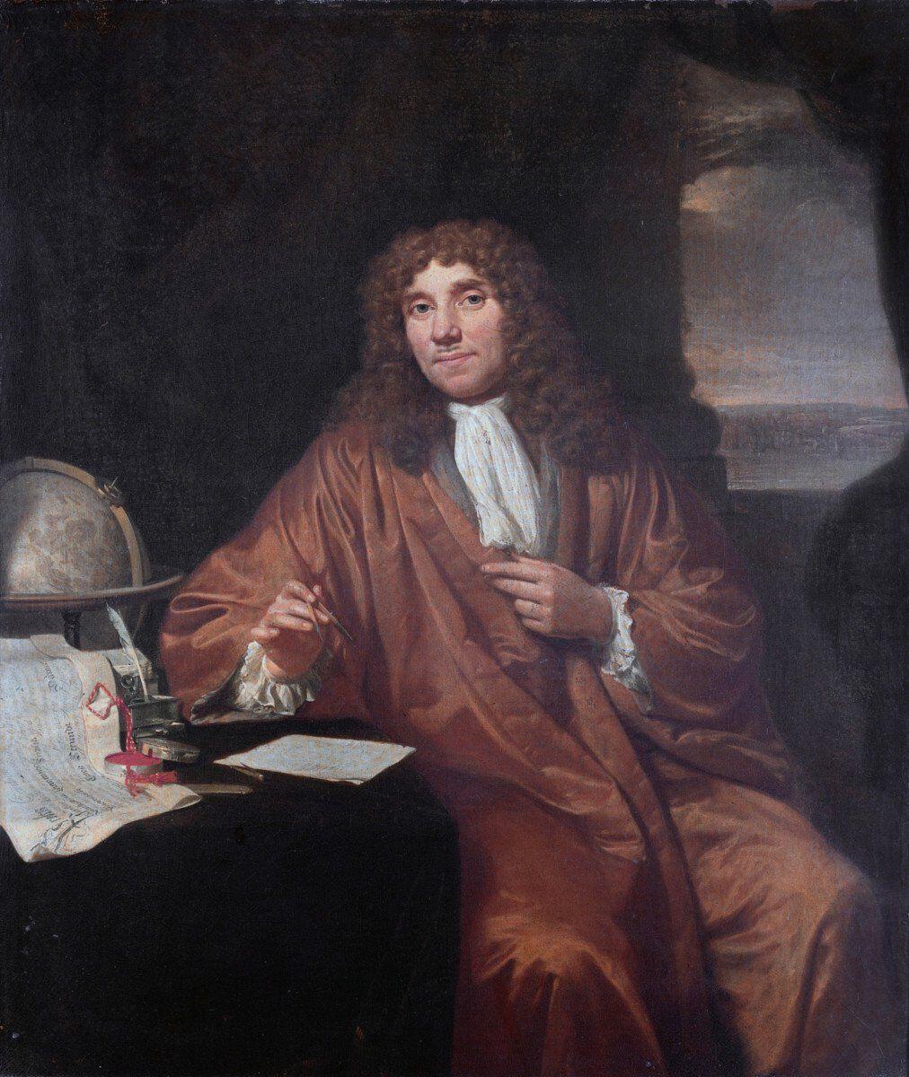 Jan Verkolje Antonie van Leeuwenhoek