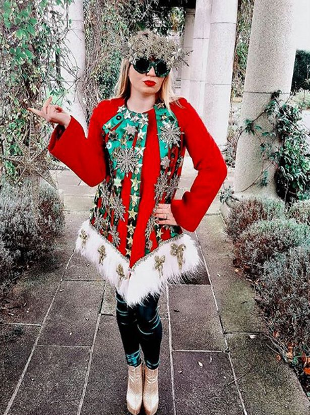 0 XMAS FP Worlds most Christmas obsessed fashion designer