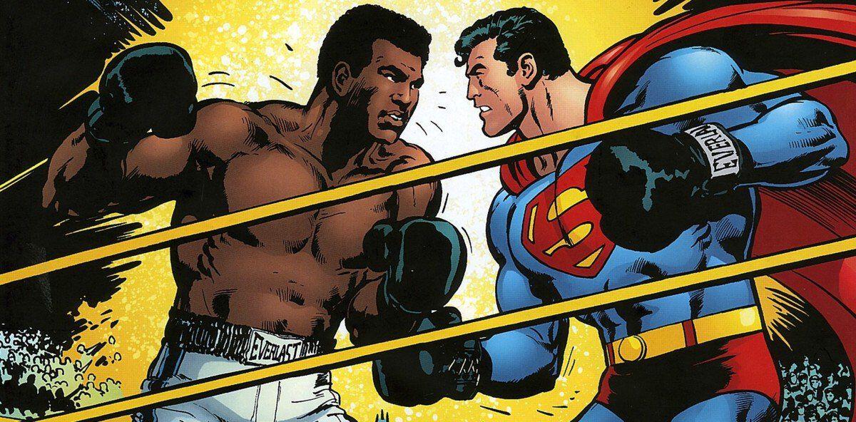 Muhammad Ali VS Superman