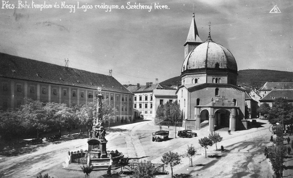 A Széchenyi tér az 1930 as évek elején