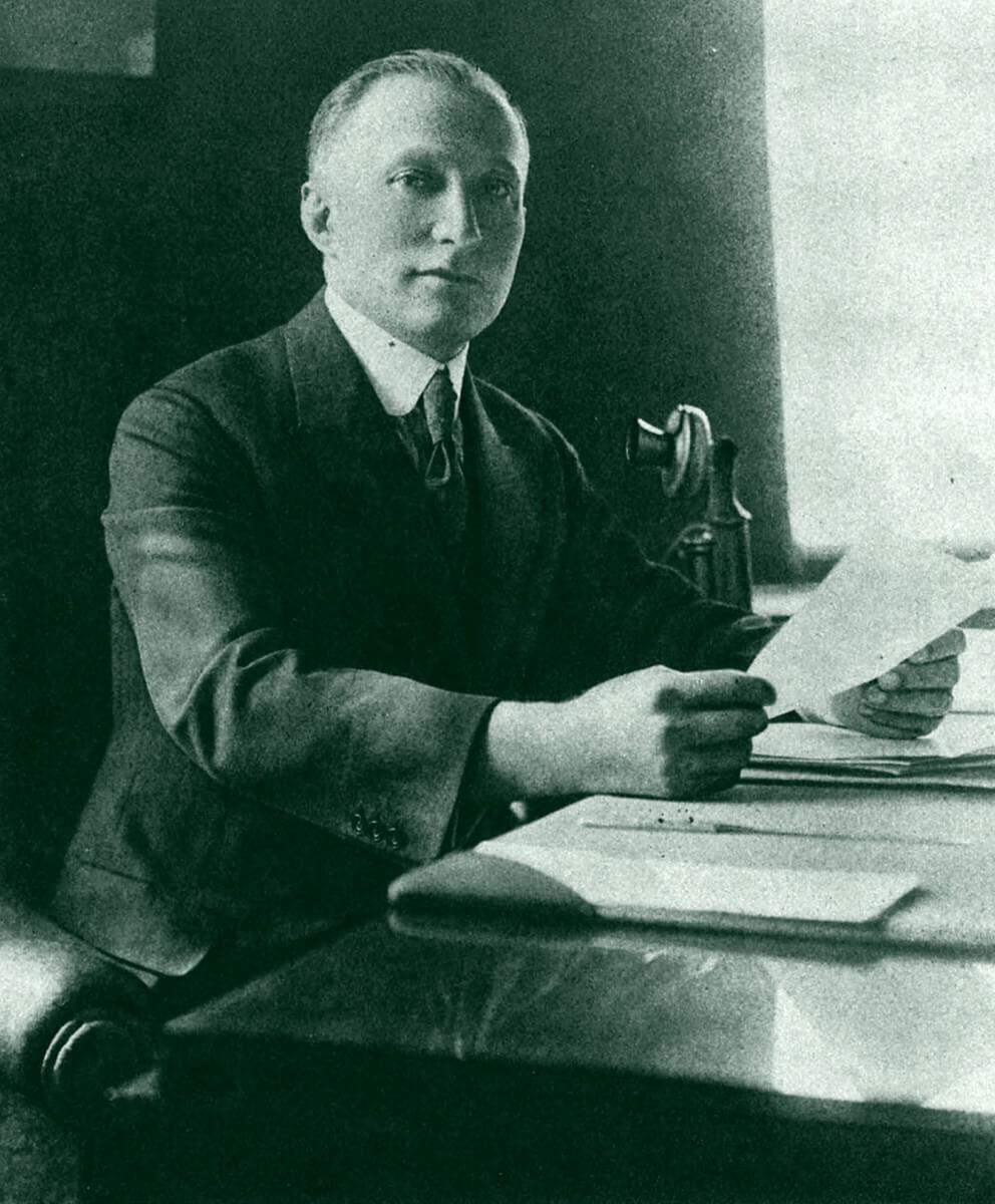 Adolph Zukor by Apeda 1922