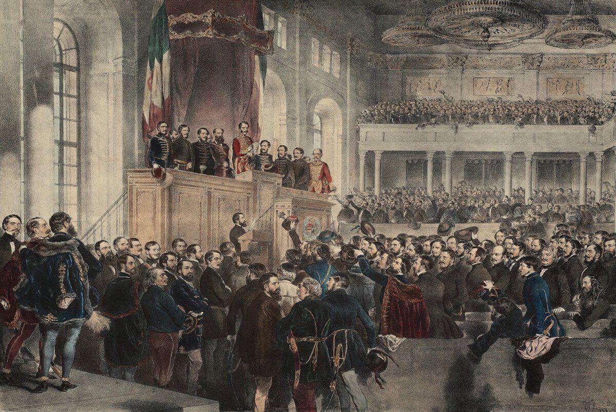 Országgyűlés megnyitása 1848