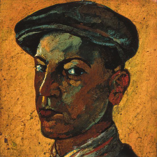 Vajda Self portrait in a Cap 1925