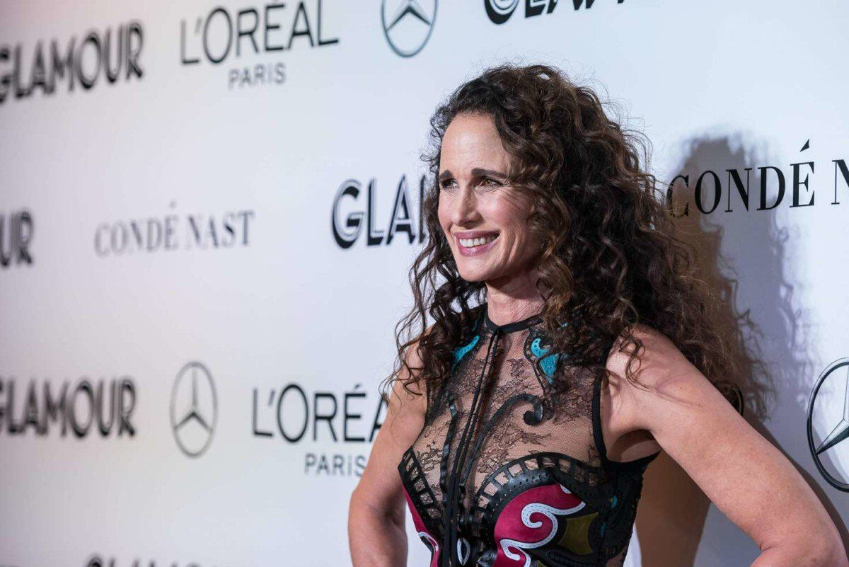 Andie MacDowell 2018 Glamour Women of the Year Awards got celeb