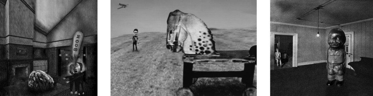BPF2019 © David Lynch SmallStories THINKING OF CHILDHOOD 1