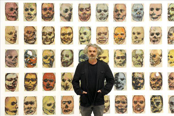 Gaál József kiállítása a Műcsarnokban Fotó MTI