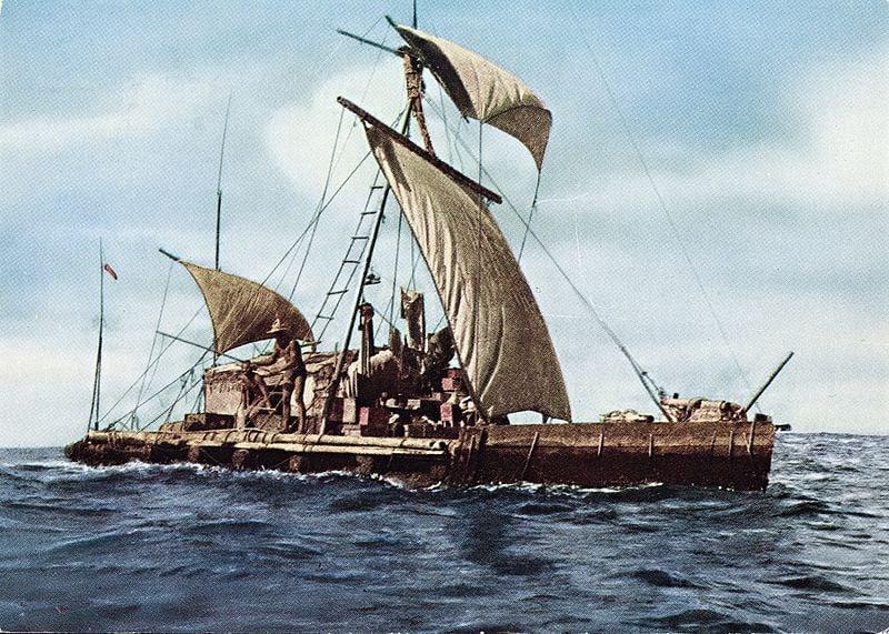 Expedition Kon Tiki 1947. Across the Pacific. 8765728430