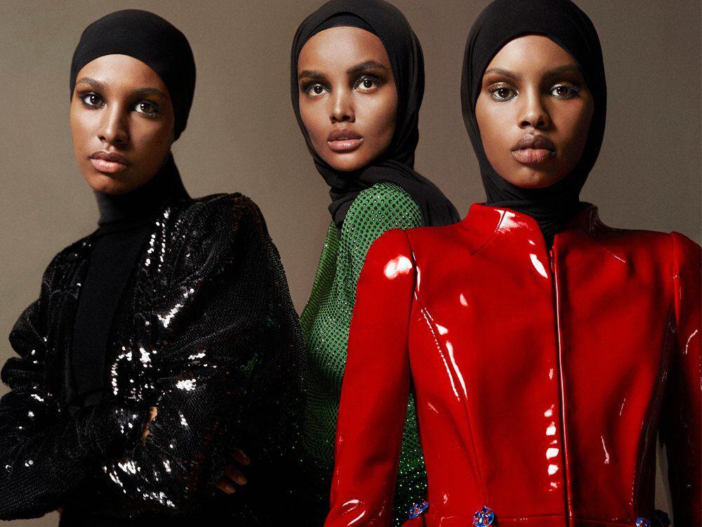 Vogue Arabia April 2019 Hijabi Models