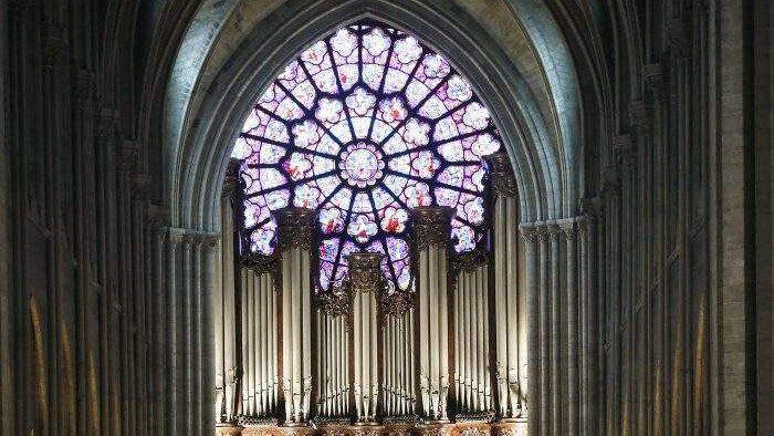Notre Dame orgona