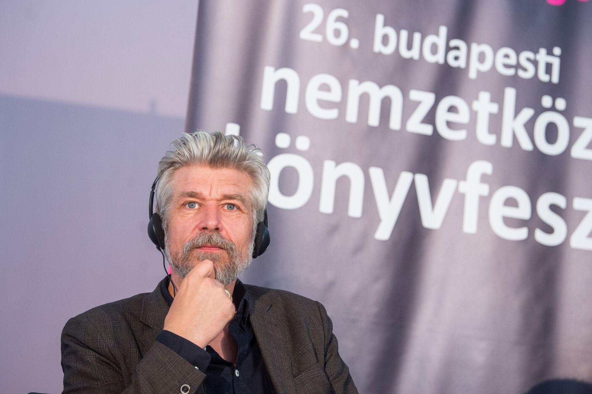 könyvfesztivál 2019 Karl Ove Knausgard Mária Sándor