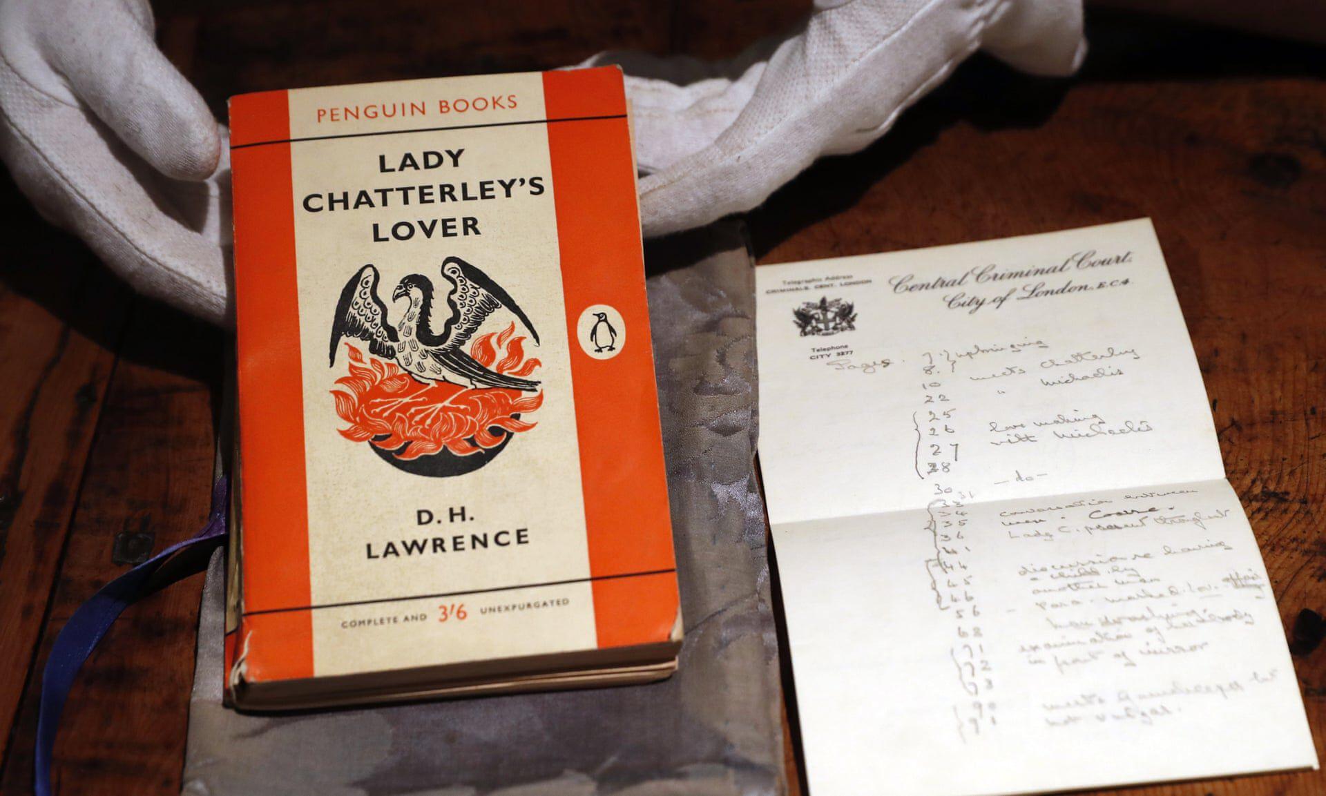 DH Lawrence Lady Chatterley szeretője