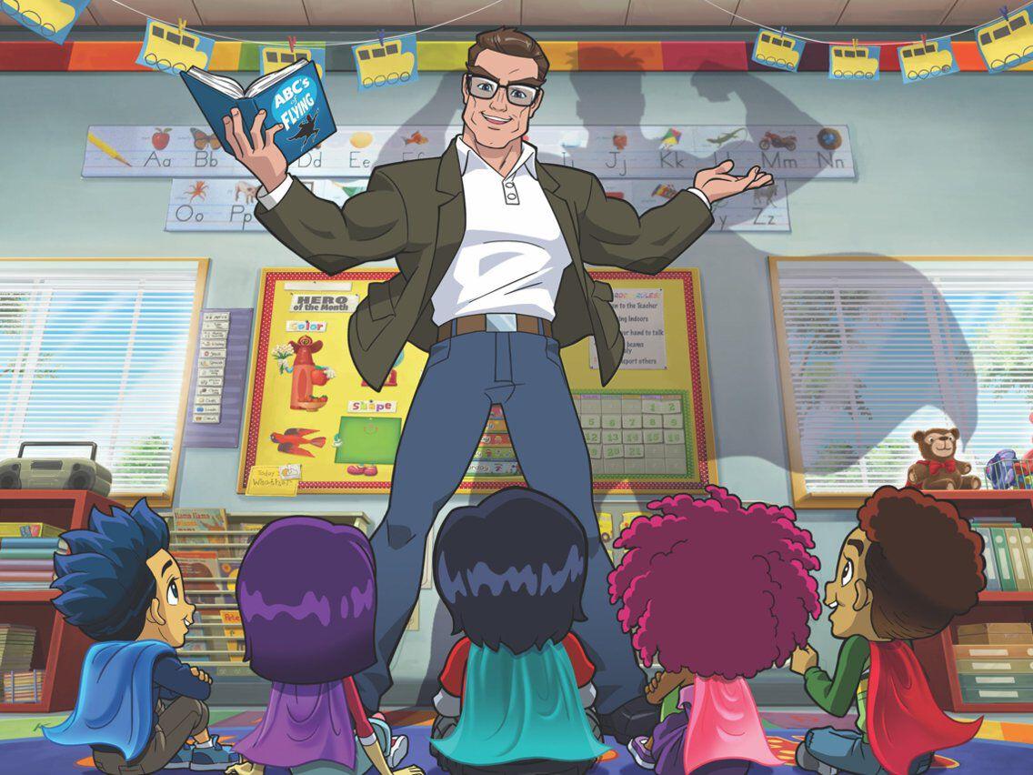 kindergarten superhero stan lee