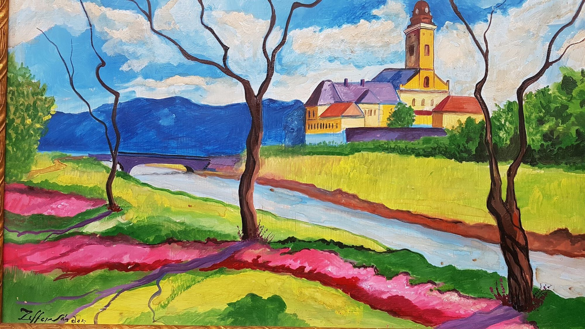 ziffer sándor festmény böhm józsef gyűjtemény kiállítás