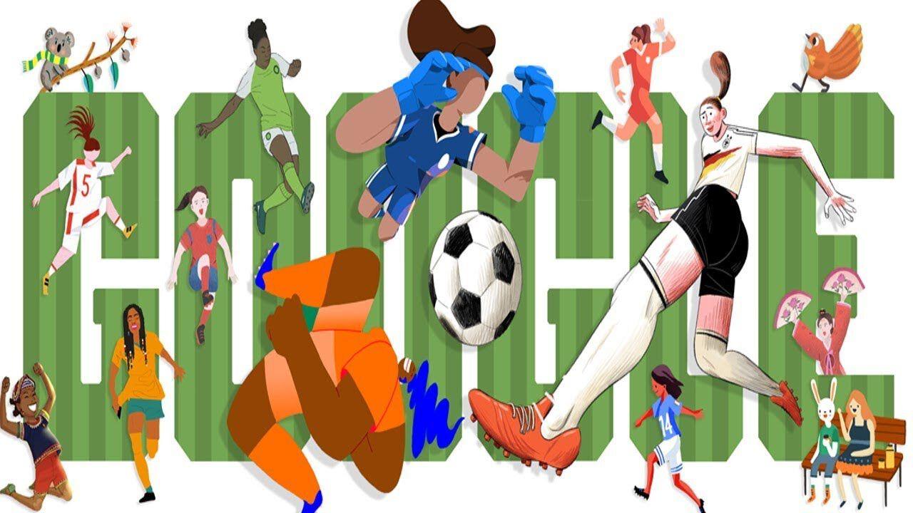 google logója női foci vébé 2019