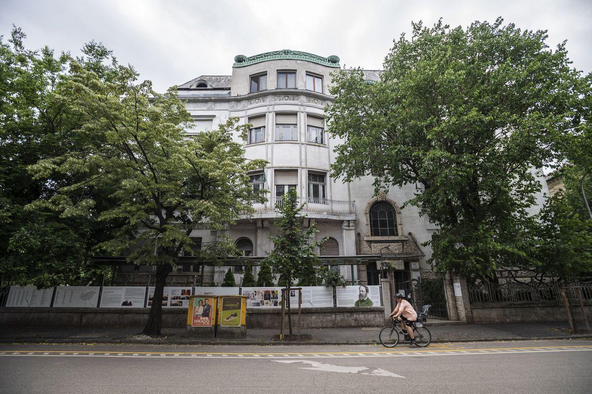 magyar írószövetség székháza