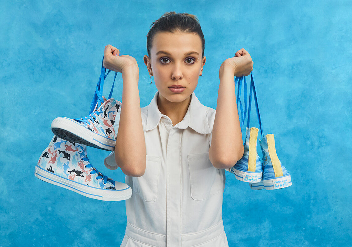 Millie Bobby Brown x Converse 22Summer Vibes22
