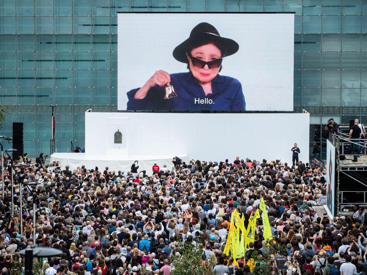 yoko ono manchesteri nemzetközi fesztivál