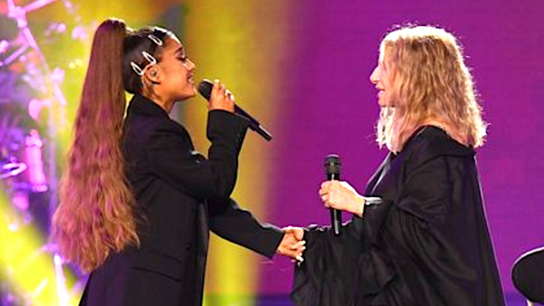Ariana Grande Barbra Streisand duett Chicago