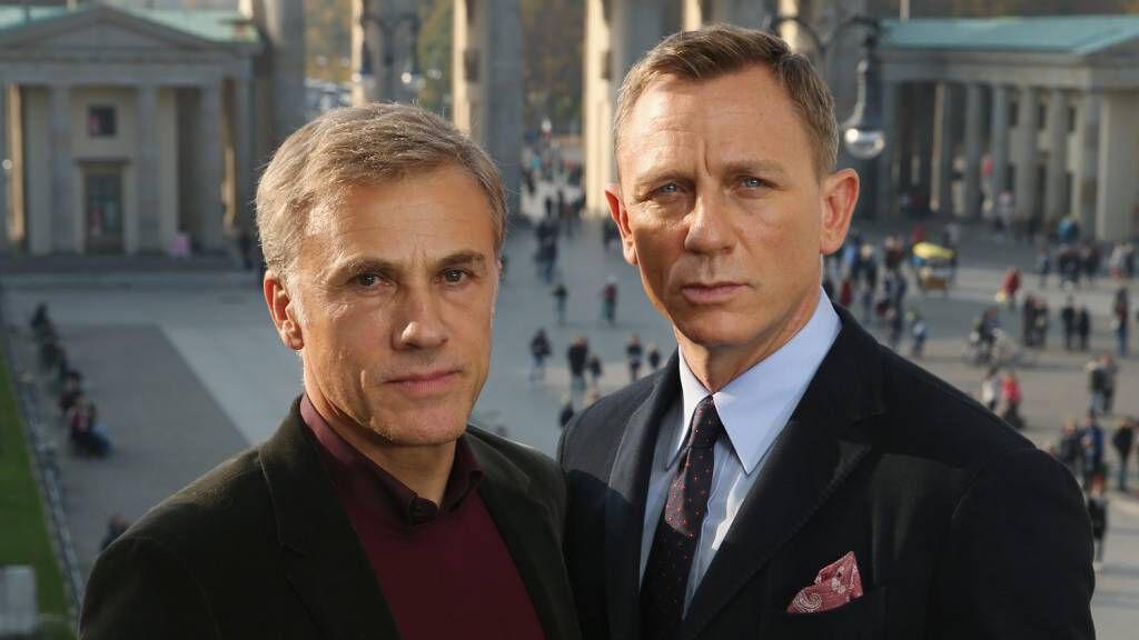 Christoph Waltz és Daniel Craig james bond