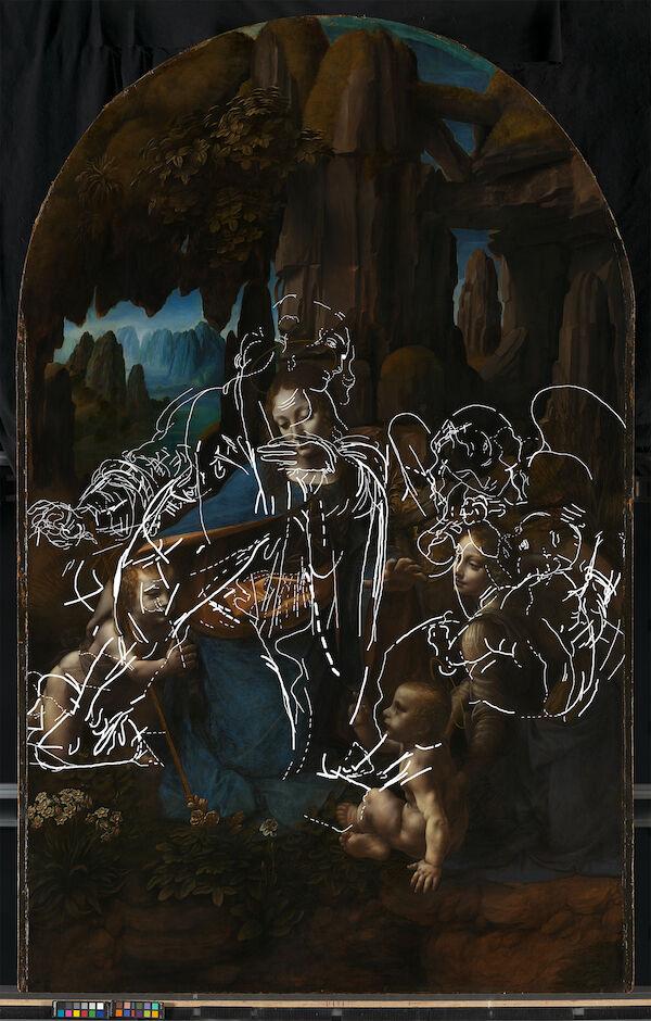 Leonardo Da Vinci Virgin Of The World Hidden Drawings 2