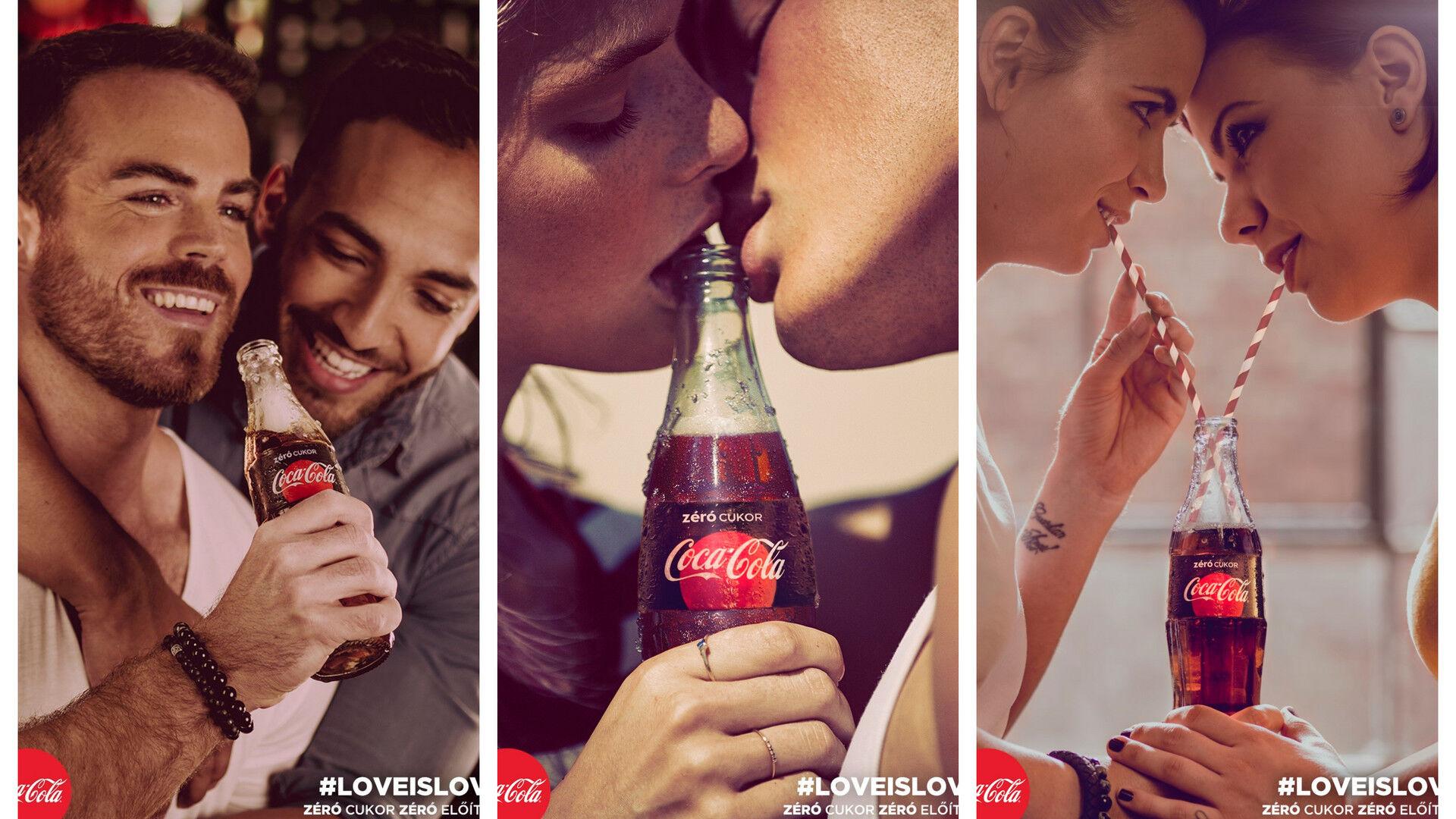 coca cola meleg plakátok budapest
