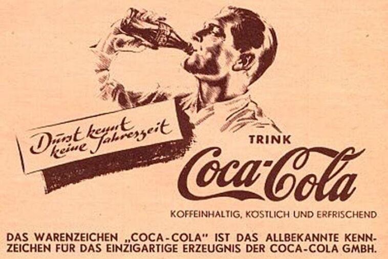 coca cola náci reklám
