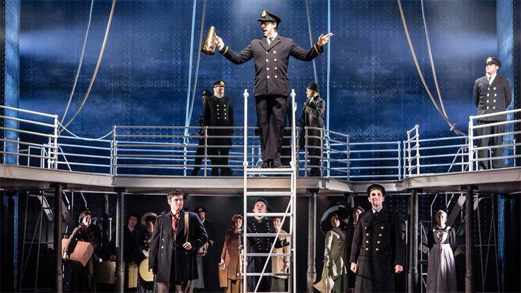 A Titanic egyik angliai előadása