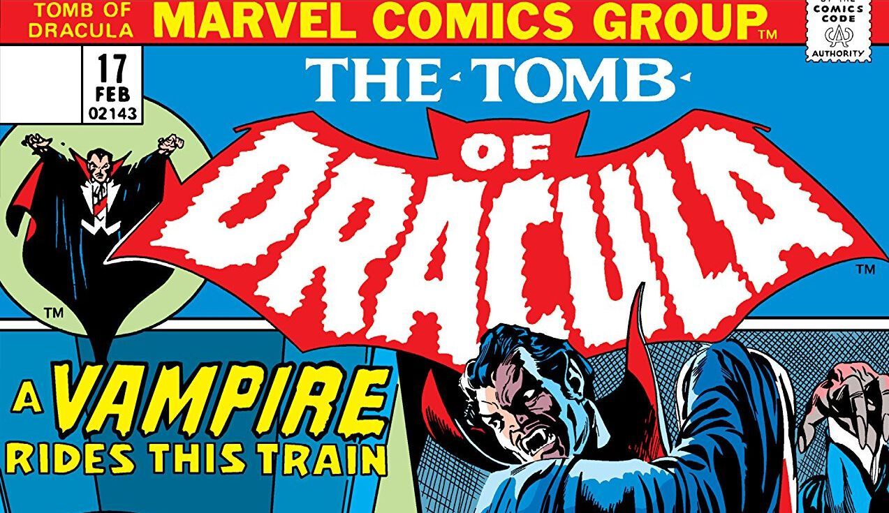 tomb of dracula. marvel