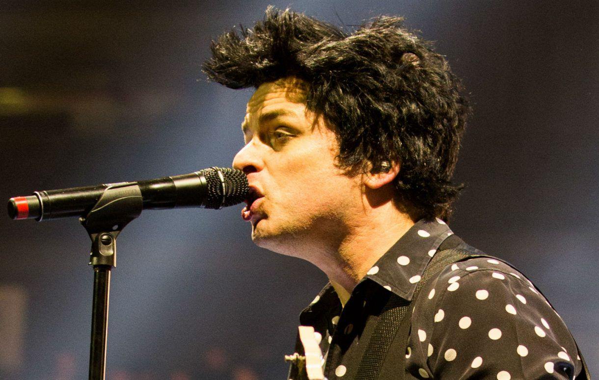 billie joel armstrong green day father of all motherfuckers hella mega tour