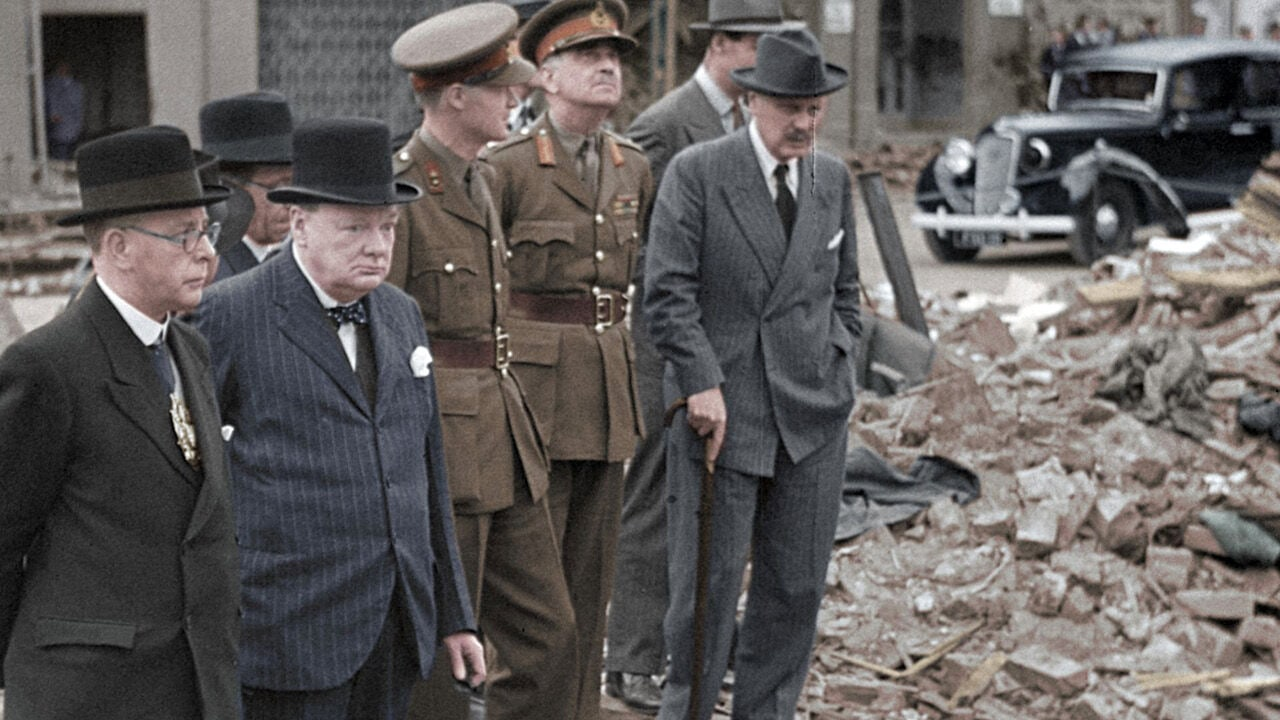 Greatest Events of World War Two in Colour netflix sorozat