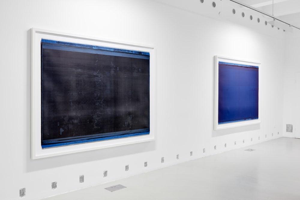 Kristóf Gábor: Interferencia kiállítás részlet - Heidi Absztrakt / Fotó: Liget Galéria