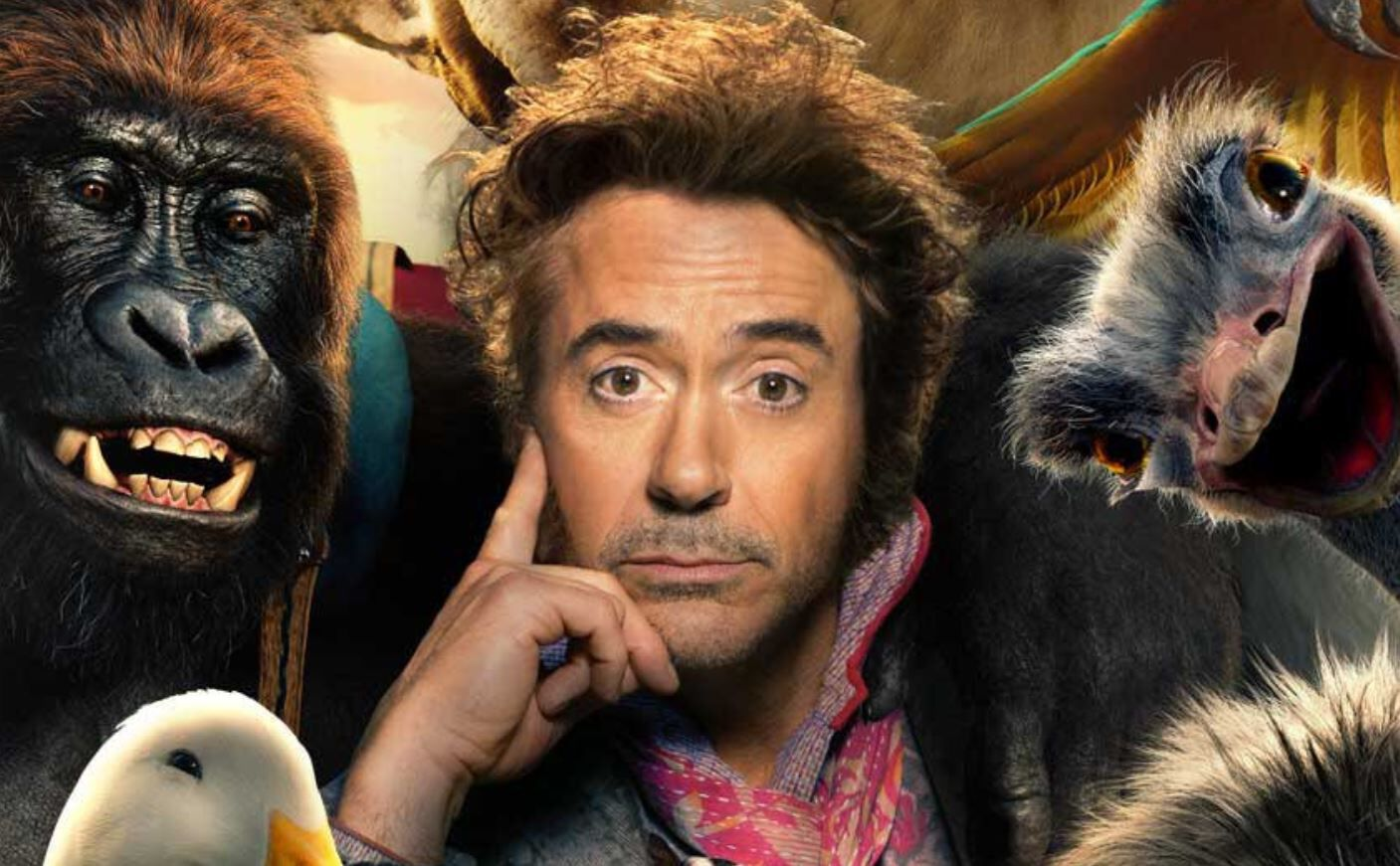 dolittle robert downey jr
