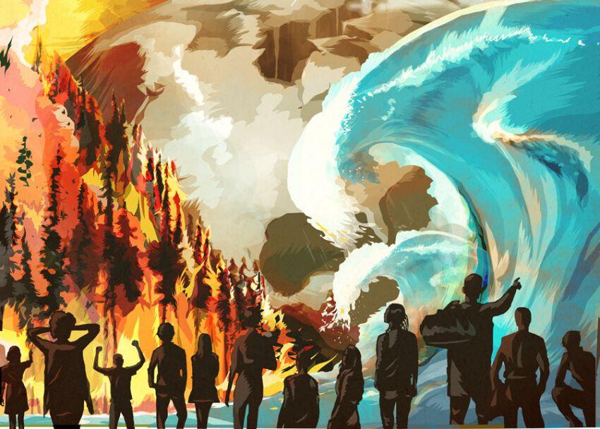 klímakatasztrófa klímavészhelyzet klímaválság művészeti pályázatok artpartner
