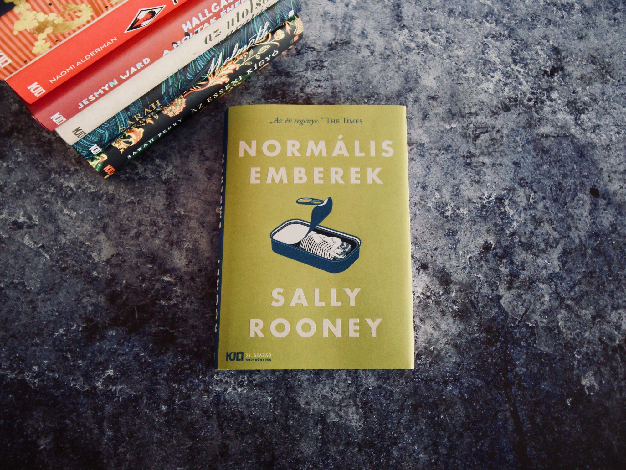 Sally Rooney Normális Emberek Könyv Sorozat