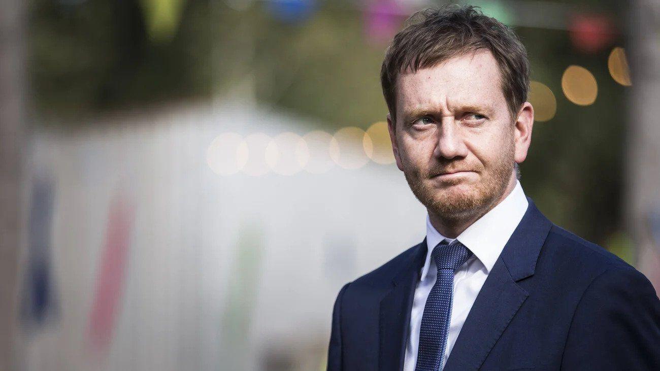 Michael Kretschmer miniszterelnök drezda