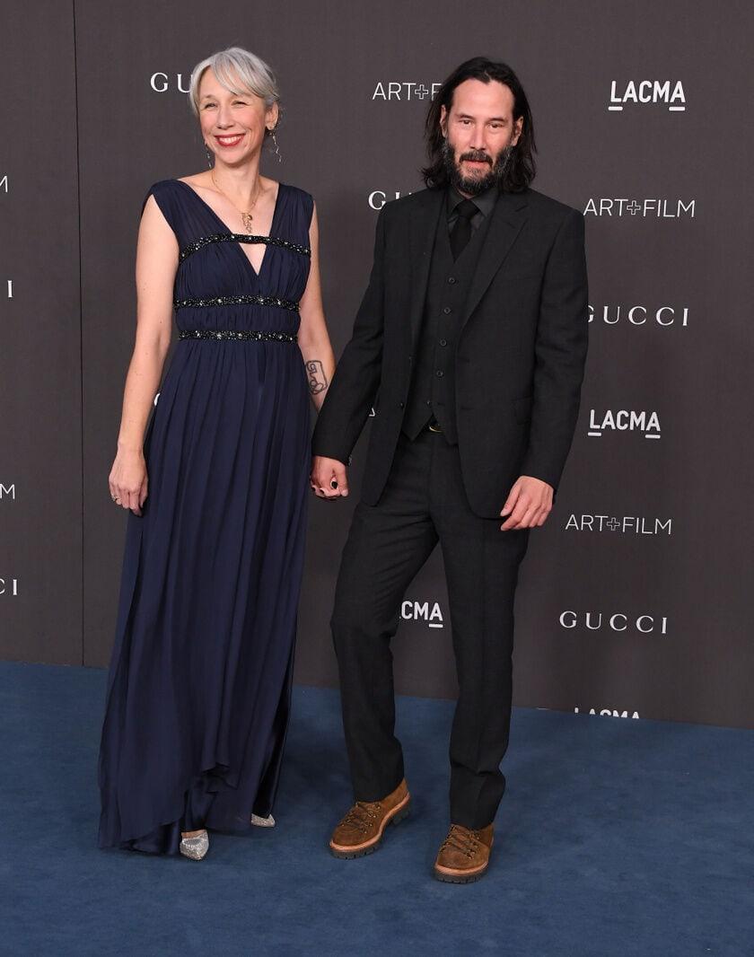 Keanu Reeves És Barátnője Alexandra Grant