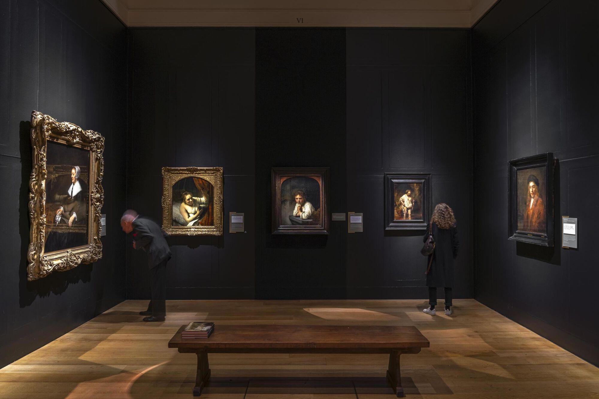 Rembrandt Festmények Műkincs Lopás Dulwich Picture Gallery