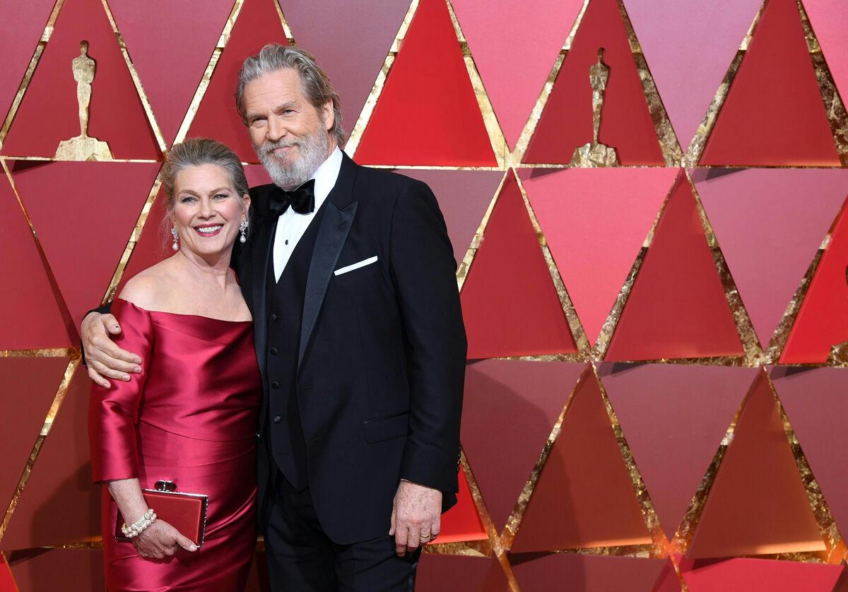 Bridges és felesége Susan Geston