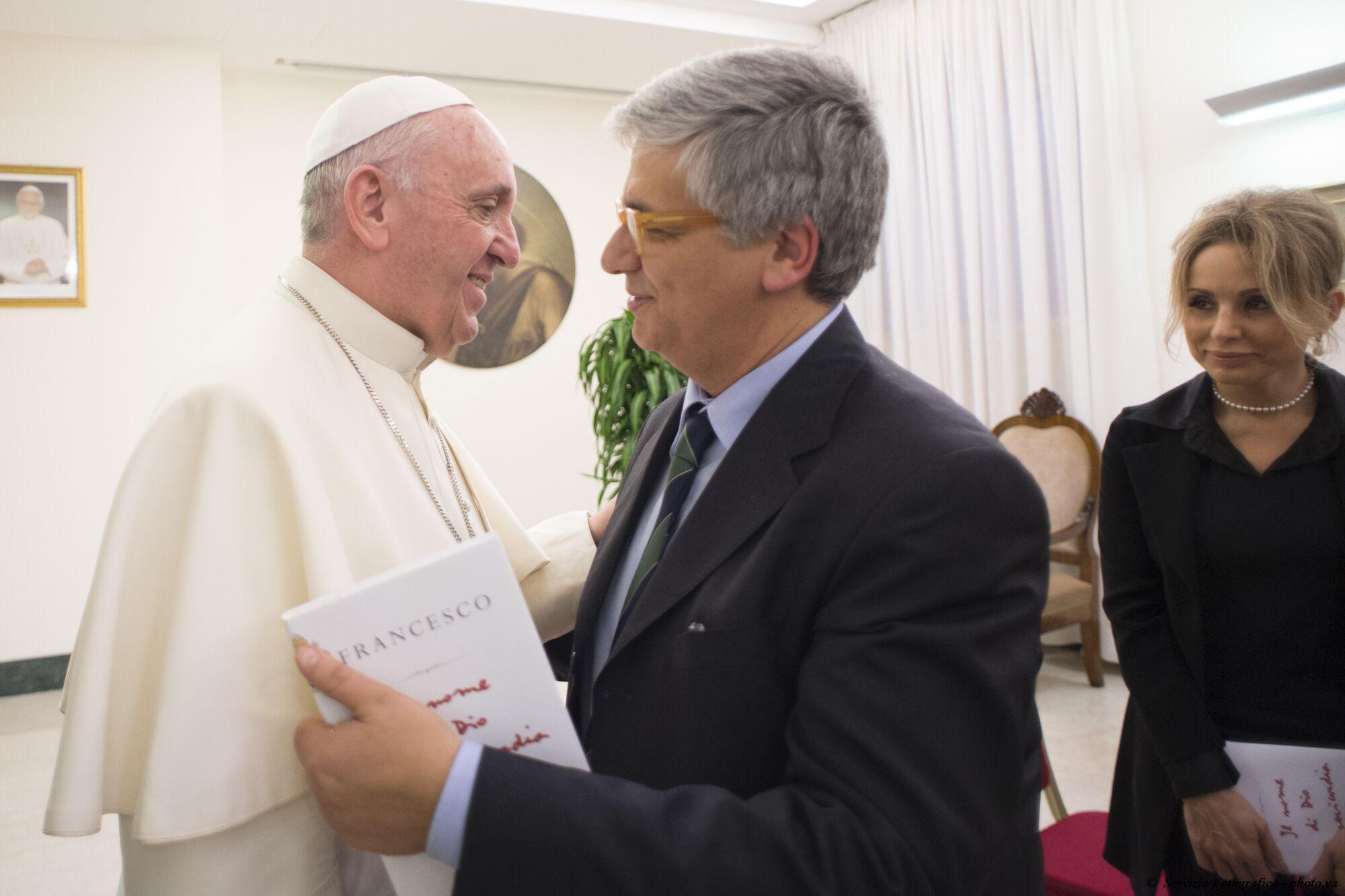 Ferenc Pápa Andrea Tornielli