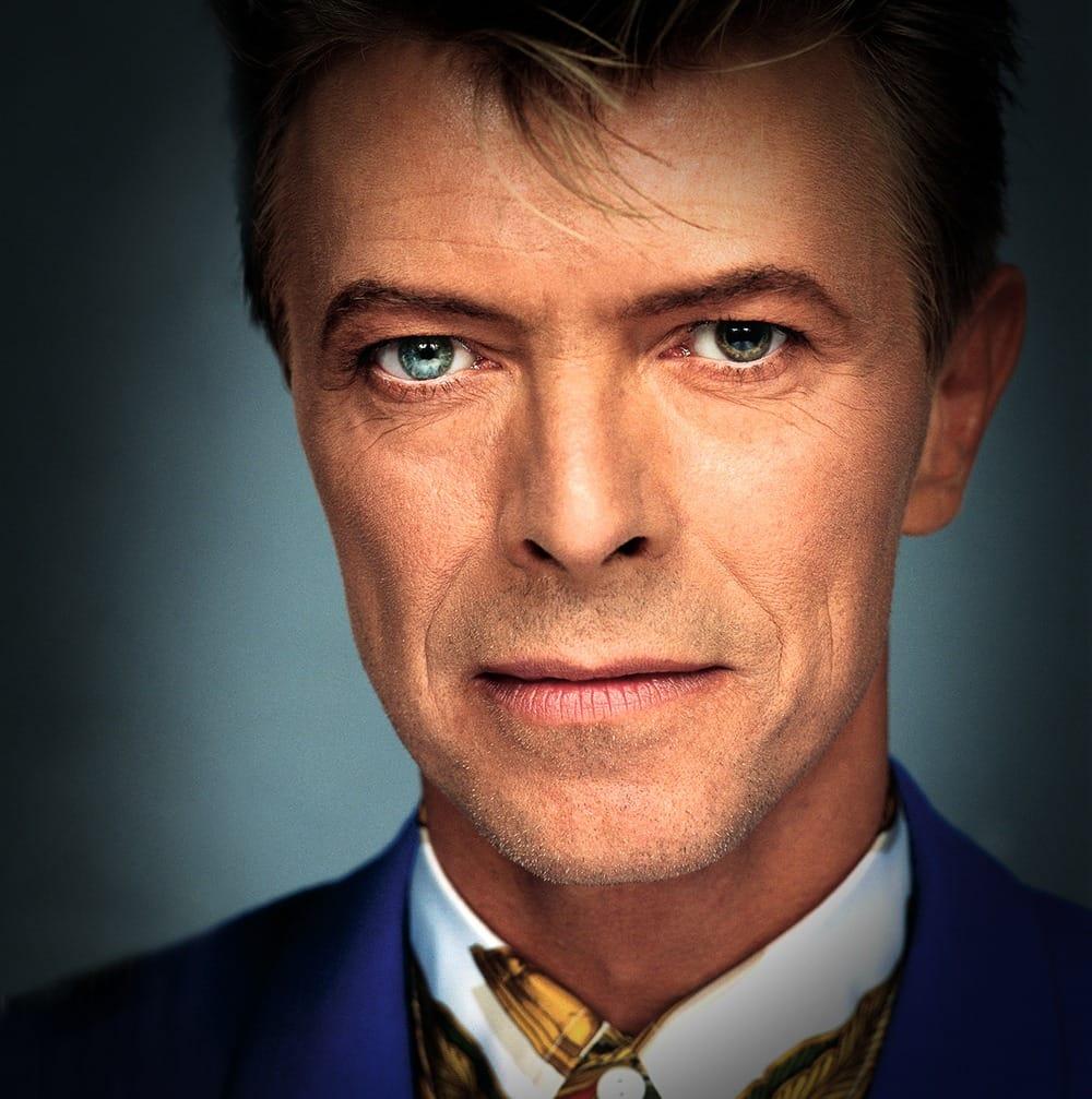david bowie portré