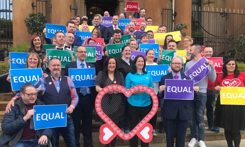egyneműek házassága kampány észak írország