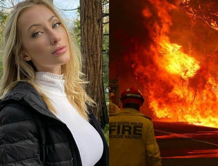 instagram modell ausztrál tűz meztelen képek
