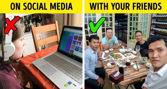 munkahelyi gondok közösségi média