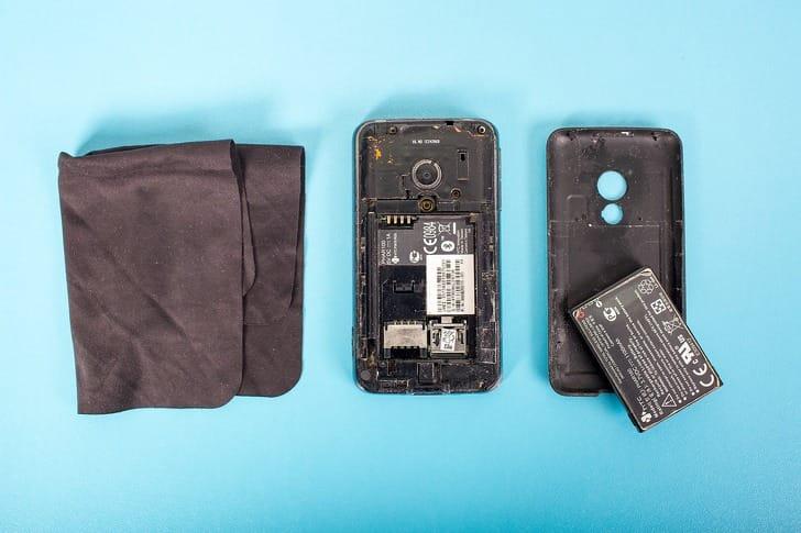 telefon takarítás